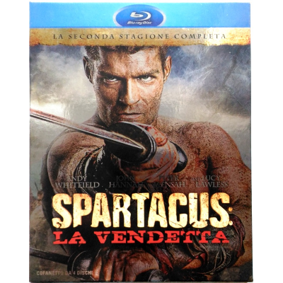 Blu-ray Spartacus - Sangue e sabbia - Stagione 2