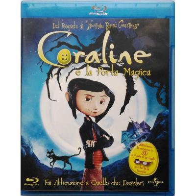 Blu-ray Coraline e la Porta Magica