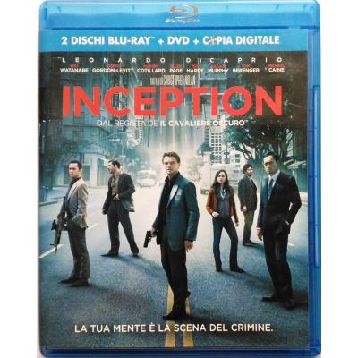 Blu-ray Inception - ed. 2 dischi + dvd