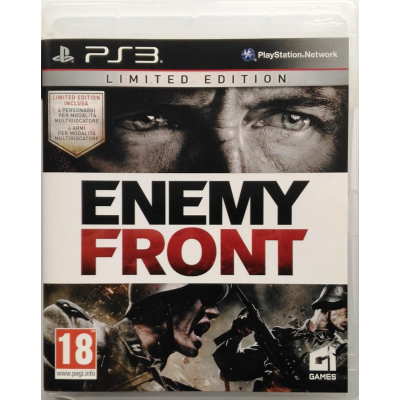 PS3 Enemy Front - DayOne - Limited Edition