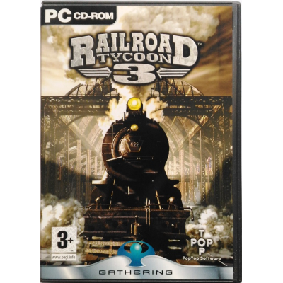 Gioco Pc Railroad Tycoon 3