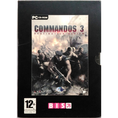 Gioco Pc Commandos 3 - Destination Berlin