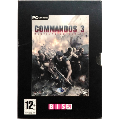Gioco Pc Commandos 3 - Destination Berlin