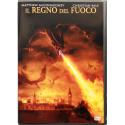 Dvd Il Regno del Fuoco - Ologramma rettangolare con Christian Bale 2002 Usato