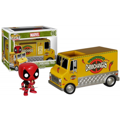 Funko Pop! Chimichanga Truck With Deadpool