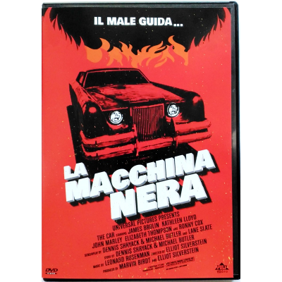 Dvd La Macchina Nera - Pulp Video