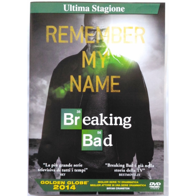 Dvd Breaking Bad - Ultima Stagione