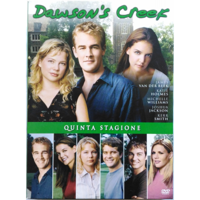 Dvd Dawson's Creek - Quinta Stagione 5