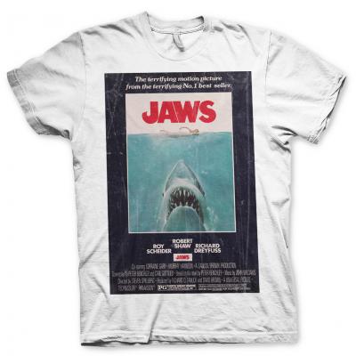 T-shirt Jaws Lo Squalo Vintage Original Poster Uomo