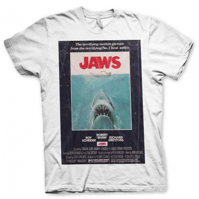 T-shirt Jaws Vintage Original Poster official Man