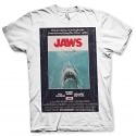 T-shirt Jaws Vintage Original Poster official Man