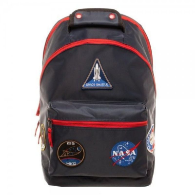Zaino Nasa Patches Space Exploration Apollo Moon Landing Backpack Bag Bioworld