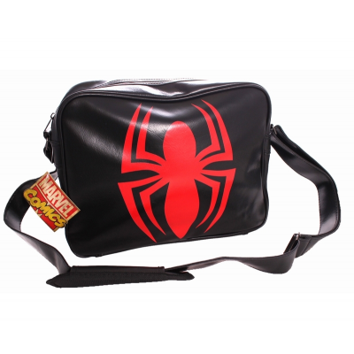 Borsa Spider-Man Red Logo Messenger Bag