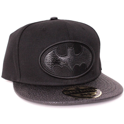 Cappello Batman Leather Symbol snapback Cap