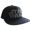 Cappello Star Wars - Metal Logo snapback Cap Hat black Bioworld