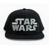 Cappello Star Wars - Metal Logo snapback Cap Hat black Bioworld