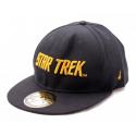 Star Trek - Golden Text Black Snapback Cap Hat
