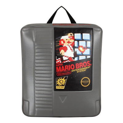 Zaino Super Mario Bros NES Cartridge Shaped Backpack