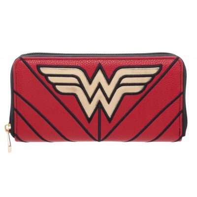 Portafoglio Wonder Woman Zip Around Wallet