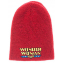 Wonder Woman Red/Blue Reversible Beanie Winter Hat DC Comics Bioworld