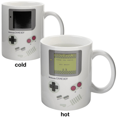 Tazza Nintendo Game Boy Heat Change Mug