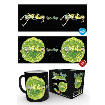 Tazza Rick and Morty - Portal Heat Change Mug