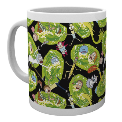 Tazza Rick and Morty - Portals Mug