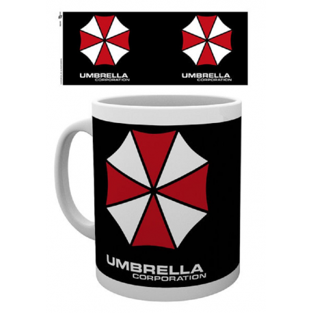 Tazza Resident Evil Umbrella Corporation Logo Mug