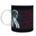 Game of Thrones Daenerys Fire & Blood Mug 10 cm ABYstyle
