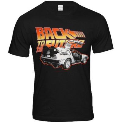 T-shirt Back To The Future Delorean