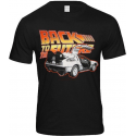 T-shirt Back To The Future Delorean Man