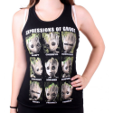 Guardians of the Galaxy vol. 2 - Groot Expressions Tank Top Donna
