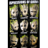 Canottiera Groot Expressions Tank Top