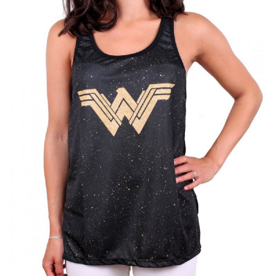 Canottiera Wonder Woman Galaxy Tank Top