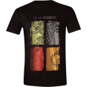 T-shirt Game of Thrones - Sigil Banners Man official