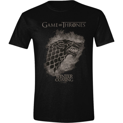 T-shirt Game of Thrones Stark Spray Winter is coming