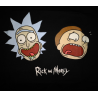 T-shirt Rick & Morty - Faces Bioworld