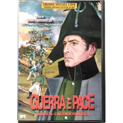 Dvd Guerra e Pace (Natascia - L'incendio di Mosca)