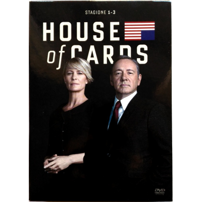 Dvd House of Cards - Stagioni 1, 2 e 3