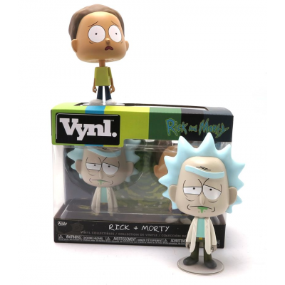 Rick and Morty Vynl. Vinyl Figure 2-Pack Funko