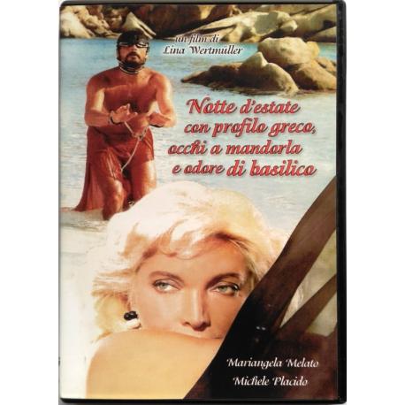 Dvd Notte d'estate con profilo greco, occhi a mandorla e odore di basilico