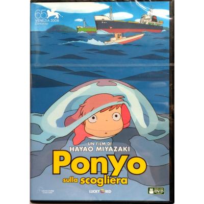 Dvd Ponyo sulla scogliera