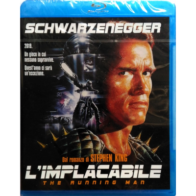 Blu-ray L'implacabile - The Running Man