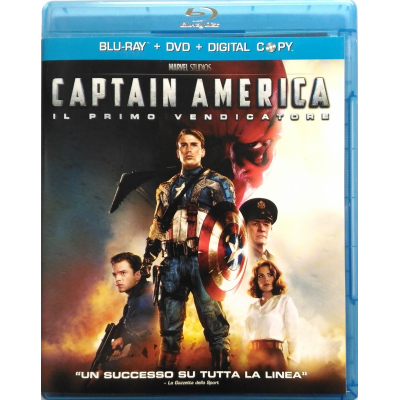 Blu-ray Captain America - Il primo vendicatore