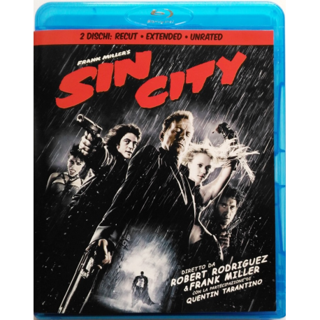 Blu-ray Sin City - Edizione Recut Extended Unrated 2 dischi