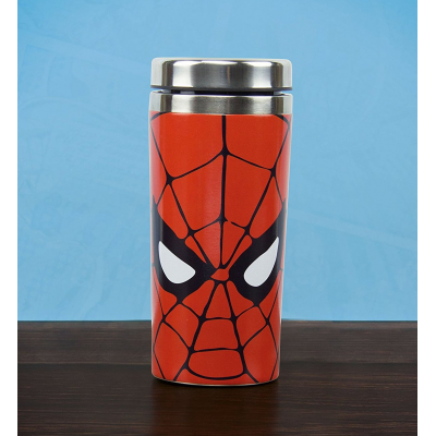 Thermos Spider-Man mask Travel Mug Paladone