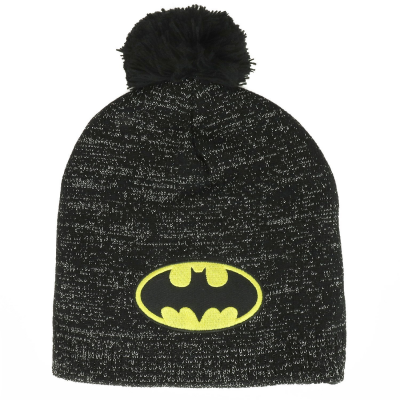 Batman Metallic Lurex Pom Beanie