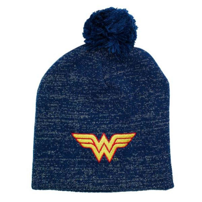 Berretta Wonder Woman Metallic Lurex Pom Beanie