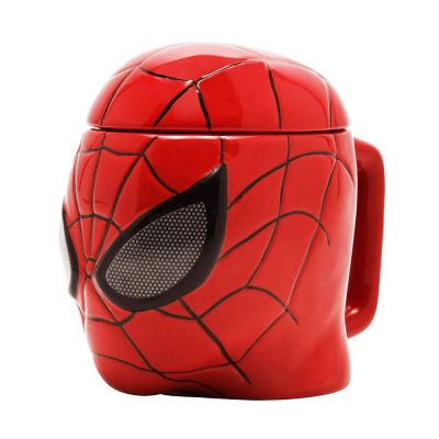 Tazza Marvel Spider-Man mask 3D Shaped Mug