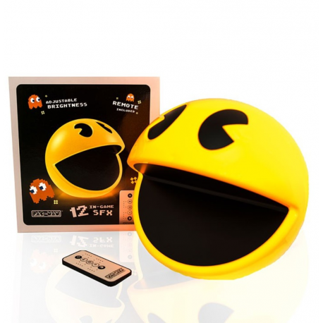 Lampada Pac-Man lamp with remote control & sound